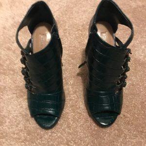BCBGMaxAzria snakeskin heels
